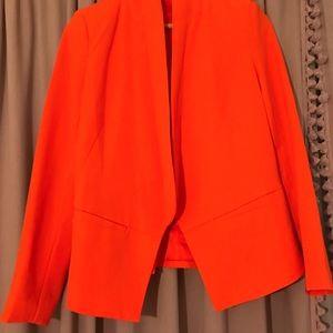 Sparkle & Fade Silhouette Blazer in Poppy